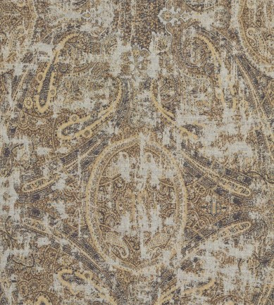 Zoffany Elswick Paisley Blue Umber textil - Paisley Home