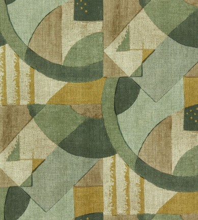 Zoffany Abstract 1928 Antique Olivine tapéta