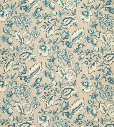 Zoffany Winterbourne Indigo textil - Paisley Home