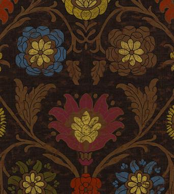 Thibaut Buccini Dark Brown F96055  textil - Paisley Home
