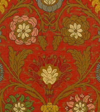 Thibaut Buccini Red F96058  textil - Paisley Home