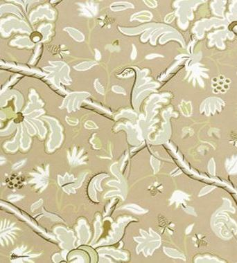 Thibaut Denmark Green and Beige 839T6034  tapéta - Paisley Home