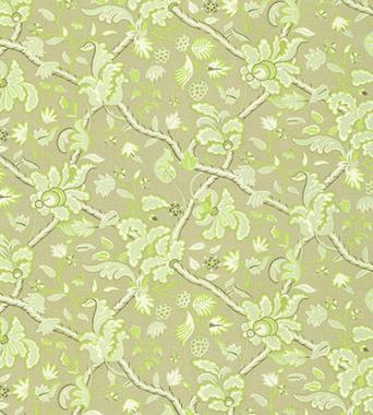 Thibaut Denmark Green and Beige F96034  textil - Paisley Home
