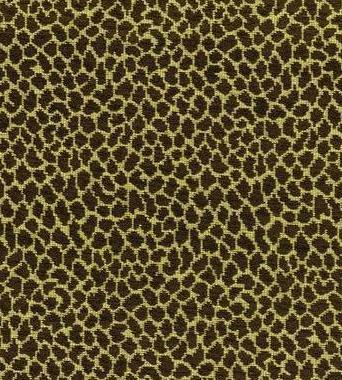 Thibaut Tanzania Brown on Cream W7285  textil - Paisley Home