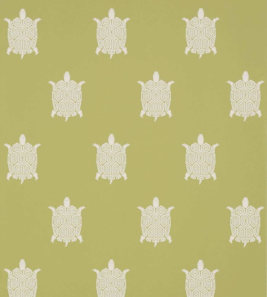 Thibaut Turtle Bay Green tapéta - Paisley Home