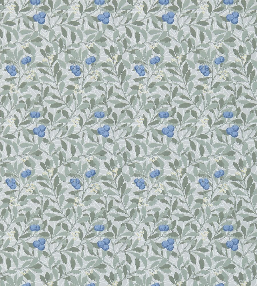 William Morris Arbutus Silver/Cobalt tapéta - Paisley Home