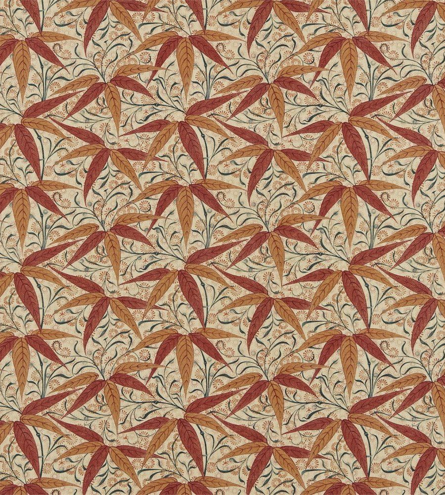 William Morris Bamboo Russet/Sienna textil - Paisley Home
