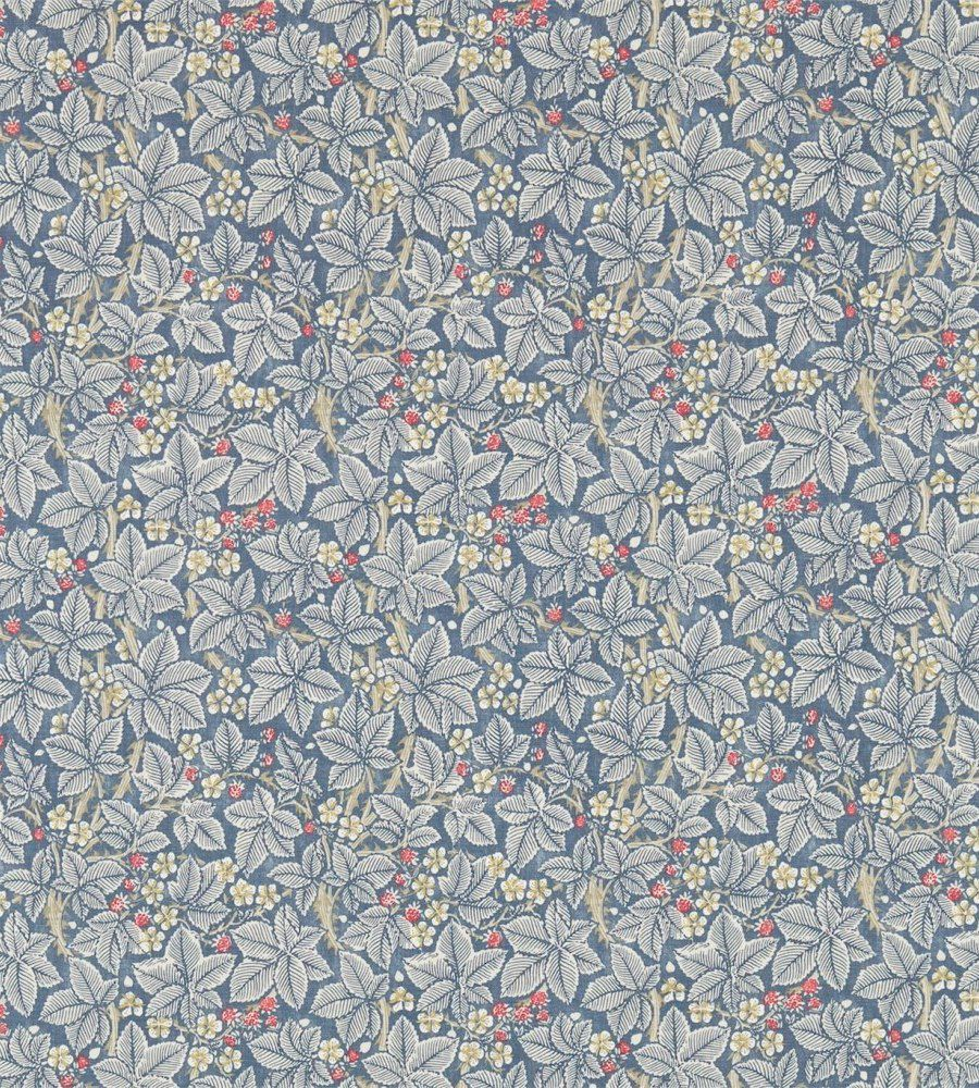 William Morris Bramble Mineral/Slate textil - Paisley Home