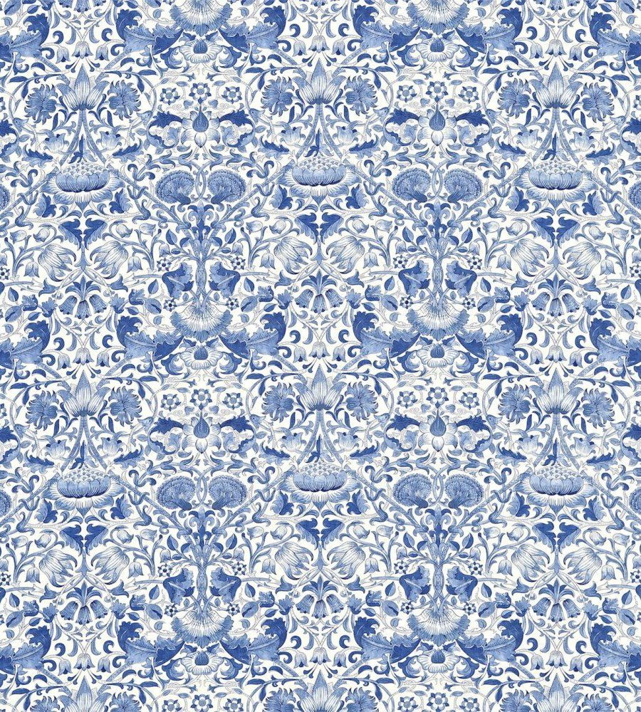 William Morris Lodden China Blue textil - Paisley Home