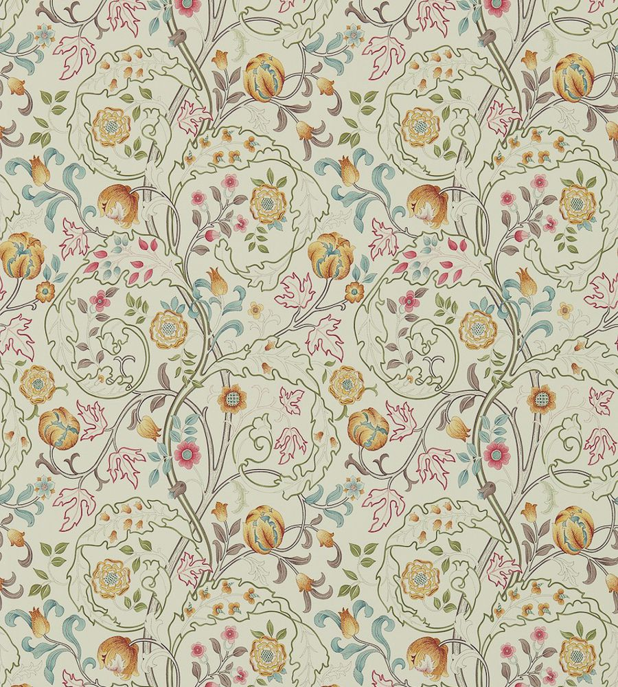 William Morris Mary Isobel Russet/Taupe tapéta - Paisley Home