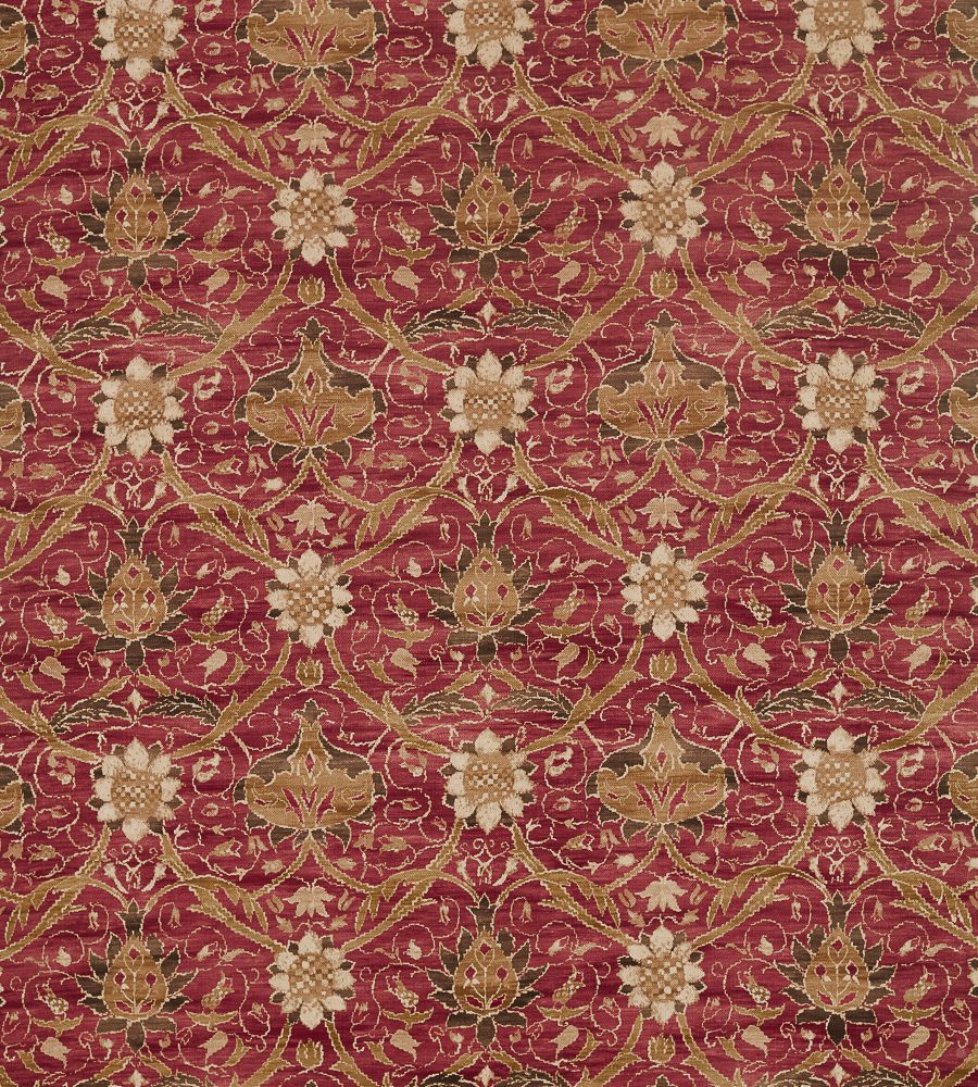 William Morris Montreal Russet textil - Paisley Home