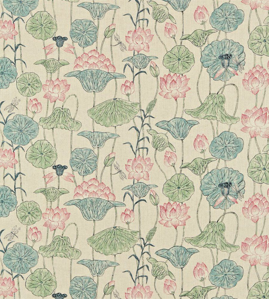 Zoffany Lotus Flower Chintz textil - Paisley Home