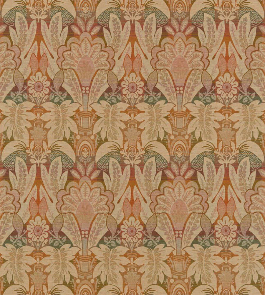 Zoffany Montrose Amethyst-Orange textil - Paisley Home