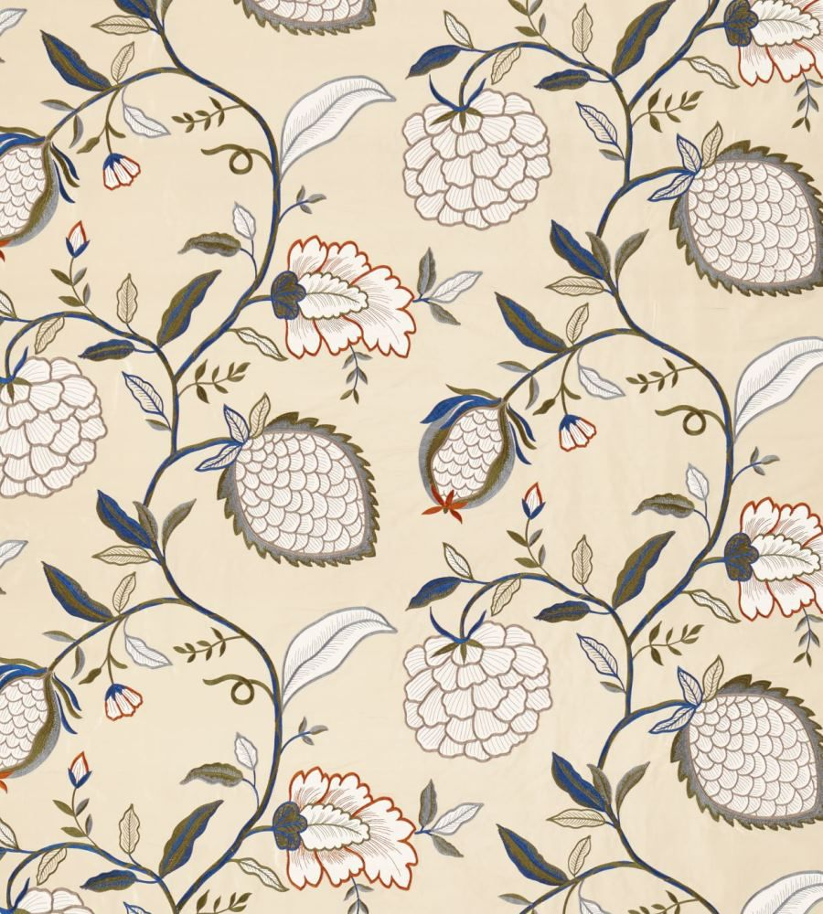 Zoffany Pomegranate Tree Indienne textil - Paisley Home