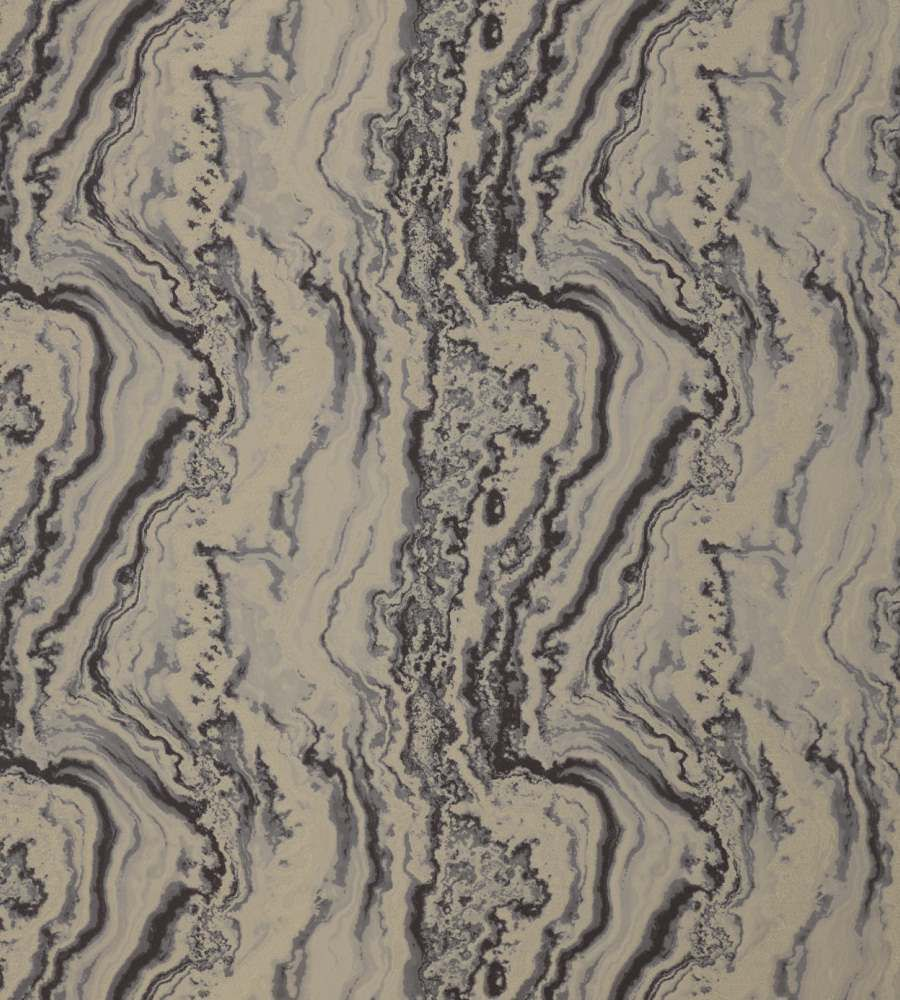 Zoffany Serpentine Anthracite textil - Paisley Home