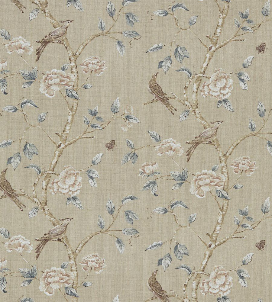 Zoffany Woodville White Clay textil - Paisley Home